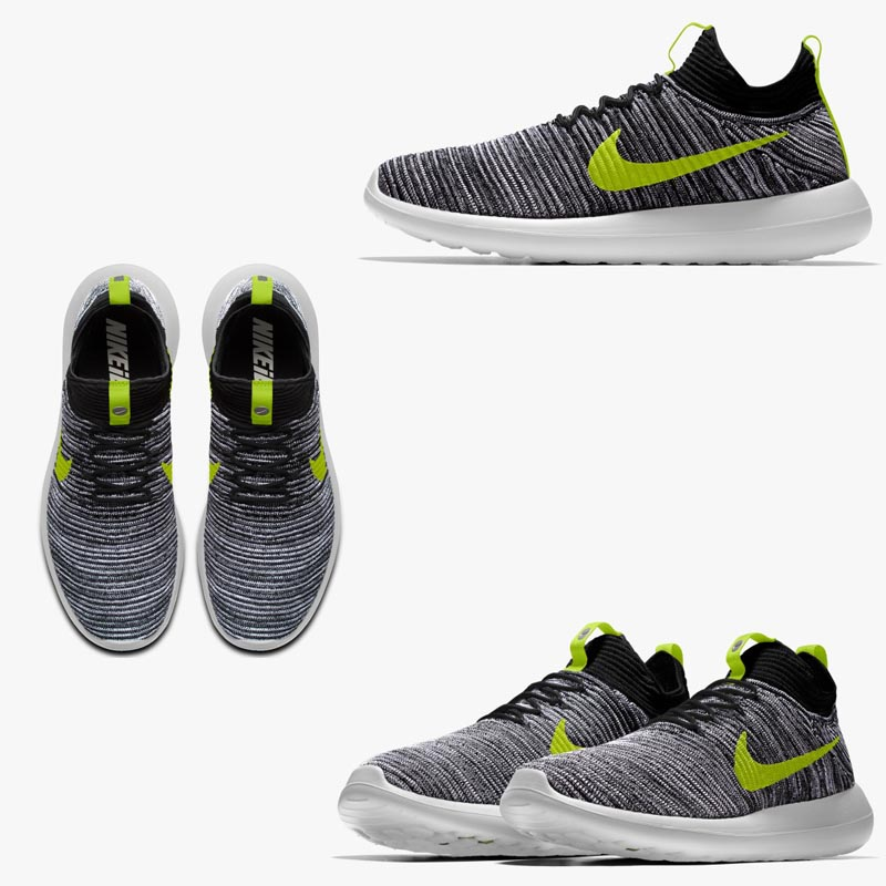 cheap for discount 21f02 9dd33 NIKE7 ROSHE TWO FLYKNIT iD