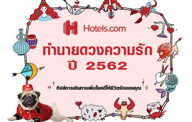 Hotels.com ทำนายดวงความรัก