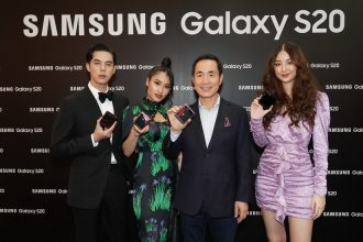 """ซัมซุงขนทัพเซเลบริตี้แถวหน้าเมืองไทย ร่วมงานเปิดตัว """"กาแลคซี่ เอส 20"""" พร้อมสมาร์ทโฟนพับได้รุ่นใหม่ """"กาแลคซี่ ซี ฟลิป"""" ที่สุดของนวัตกรรมเขย่าวงการสมาร์ทโฟนปี 2020"""