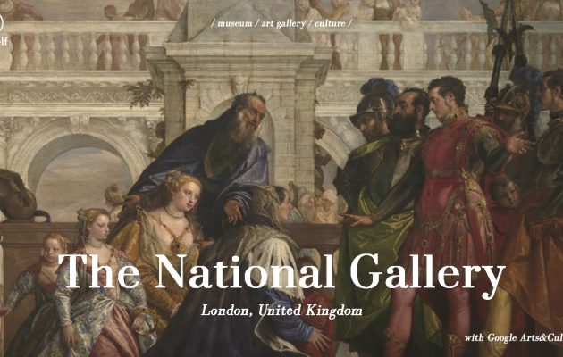 The National Gallery London Google Arts&Culture