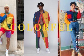 colorful fashion เสื้อผ้าหลากสี