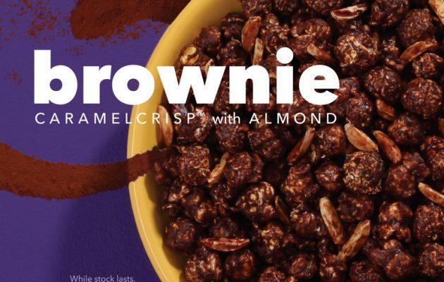 ป๊อปคอร์น Brownie CaramelCrisp