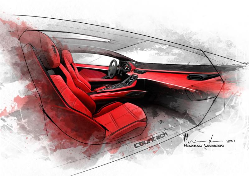 Lamborghini Countach LPI 800-4 บทใหม่ของซูเปอร์สปอร์ตคาร์แห่งตำนาน